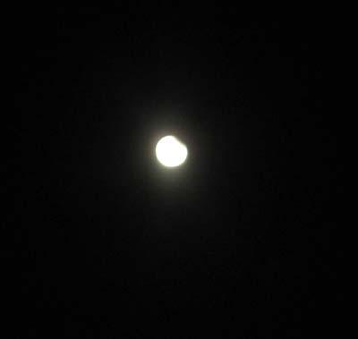 Månförmörkelse 8% ...