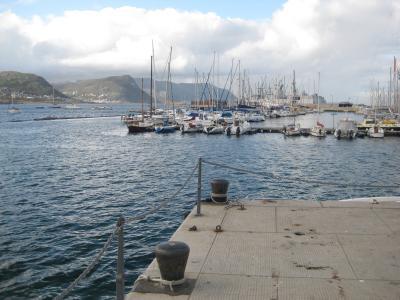 Hamnen i Simonstown ...