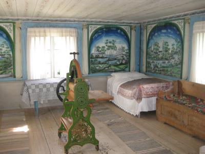 """Ett hörn av """"Blåmålarens"""" rum ..."""
