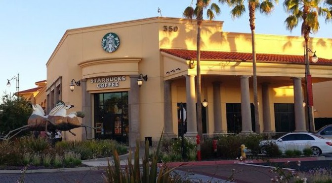 Starbucks …