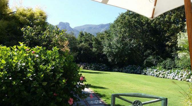 Vackra Kirstenbosch – och The Cellers Constantia …