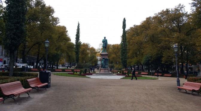 Ett kort besök i Helsingfors …