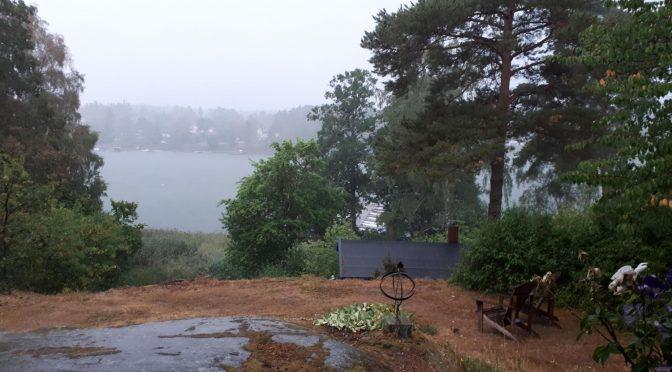 Regn …
